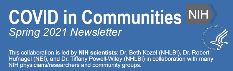 covid-in-communities-spring-2021-newsletter-header