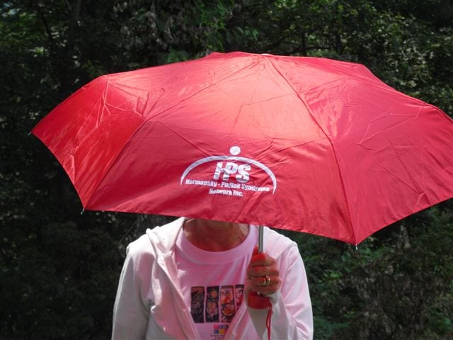 Rain or Shine Folding Umbrella